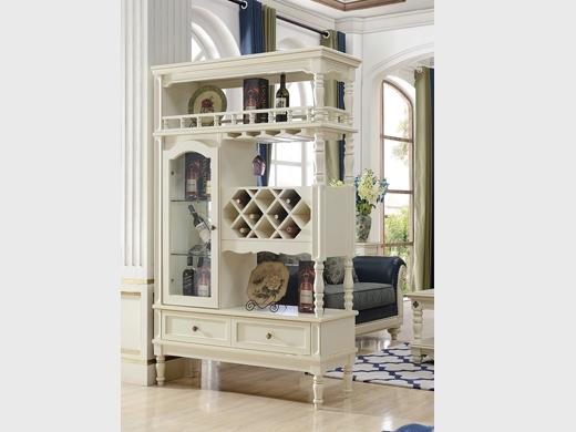 艾美系列 小美式白色间厅柜YSJZ801间厅柜