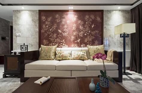 中式风格-140平米四居室-装修样板间