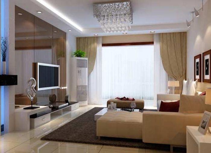 现代简约-77平米一居室-装修样板间