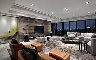 田园风格-151.34平米三居室装修样板间