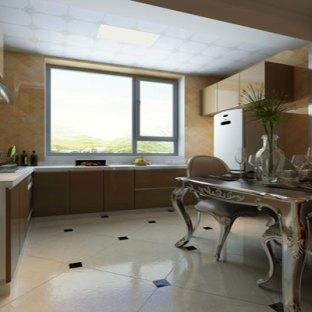 现代简约三居室厨房装修效果图