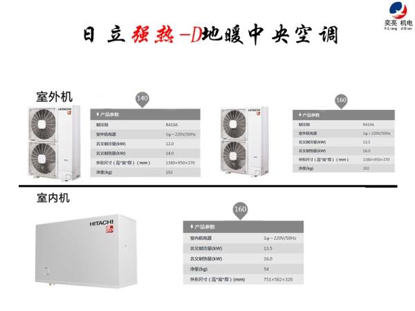 日立强热地暖RAS-280FEWN1Q/10匹外机380电源