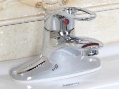 箭牌卫浴冷热面盆龙头台盆浴室洗脸盆A81260C