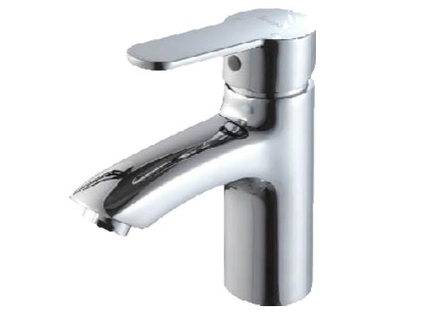 ST1043CW尚高卫浴浴室柜配件单孔时尚面盆主体全铜镀铬