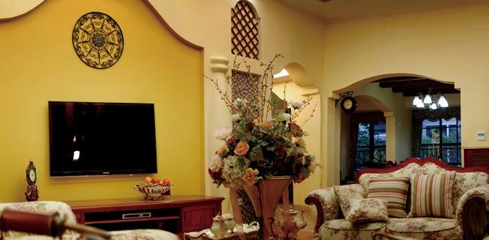 地中海风格-180平米四居室-装修样板间