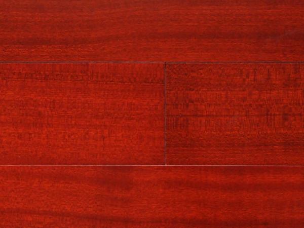 德尔地板 多层实木地板 沙比利 ZS03/平面