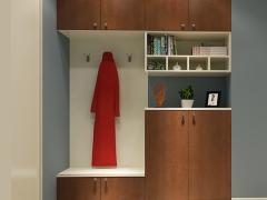 玛格定制家具 现代简约板式鞋柜A202