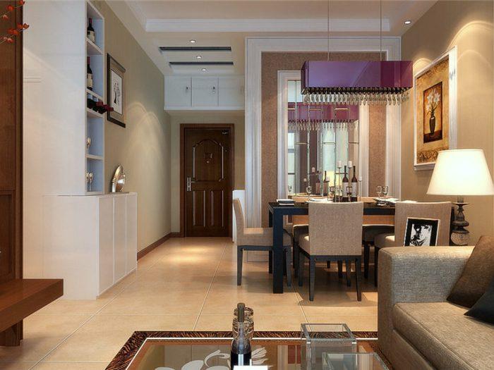 现代简约-113.59平米三居室-装修设计