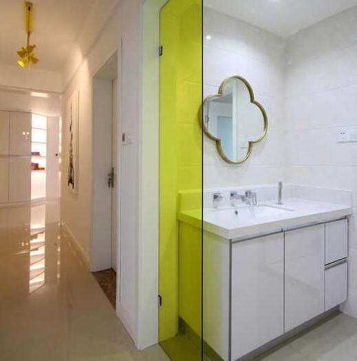 现代简约-125.83平米三居室-装修样板间