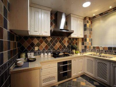地中海风格-91平米三居室装修样板间