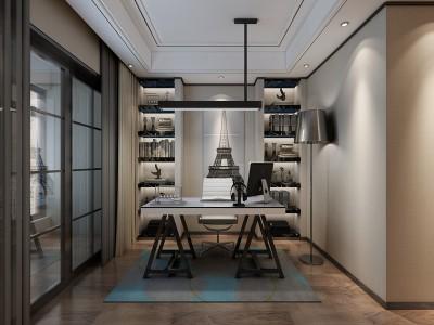 现代简约-210平米四居室装修样板间