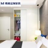玛格定制家具 U型平板简约现代家具定制衣橱衣柜推拉门图片