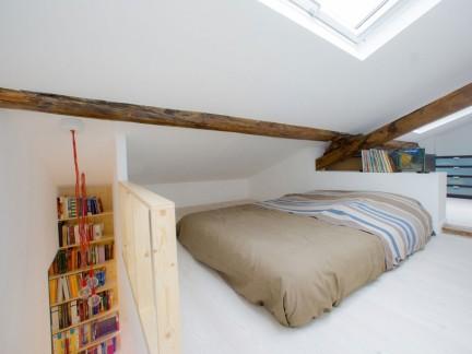 简约风格复式设计阁楼卧室装修图片