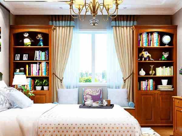 玛格定制家具 简约欧式 EM01欧式卧房定制 卧房套餐