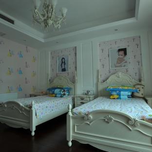 简欧风格别墅儿童房装修效果图