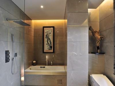 中式古典-102平米三居室装修样板间