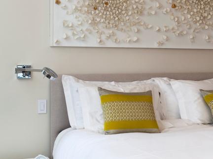 温馨浪漫混搭风格卧室装修图片