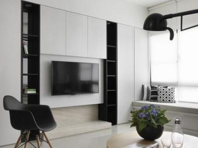 现代简约-128平米三居室装修样板间