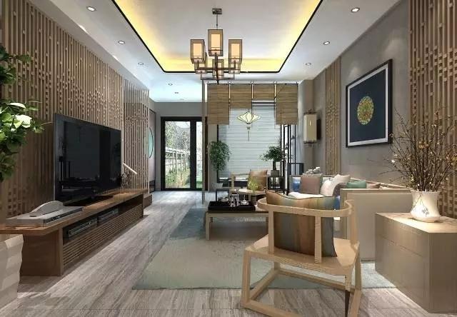中式风格-335平米六居室-装修样板间