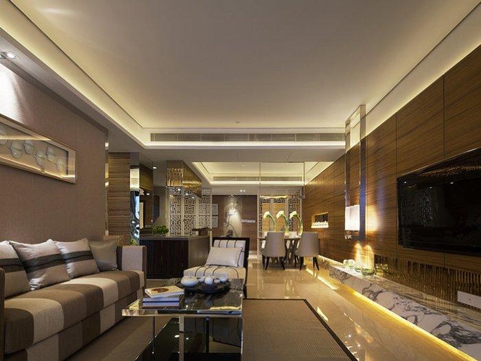 中式风格-300平米四居室-装修样板间