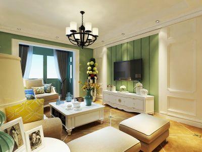 北欧风格-0平米二居室装修样板间
