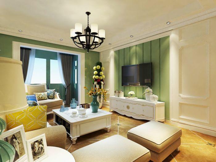 北欧风格-0平米二居室-装修样板间