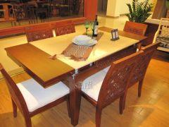 岛之宝DMN-15-3南洋风情拉合餐桌