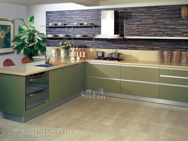 金牌厨柜睿简系列新装饰主义波西米亚-整体板
