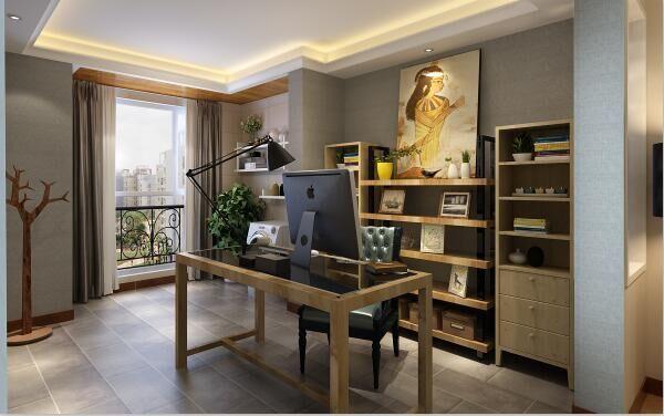 现代简约-135平米四居室-装修样板间