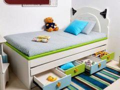 好莱客卡普里系列儿童房定制方案 地中海儿童房设计装修