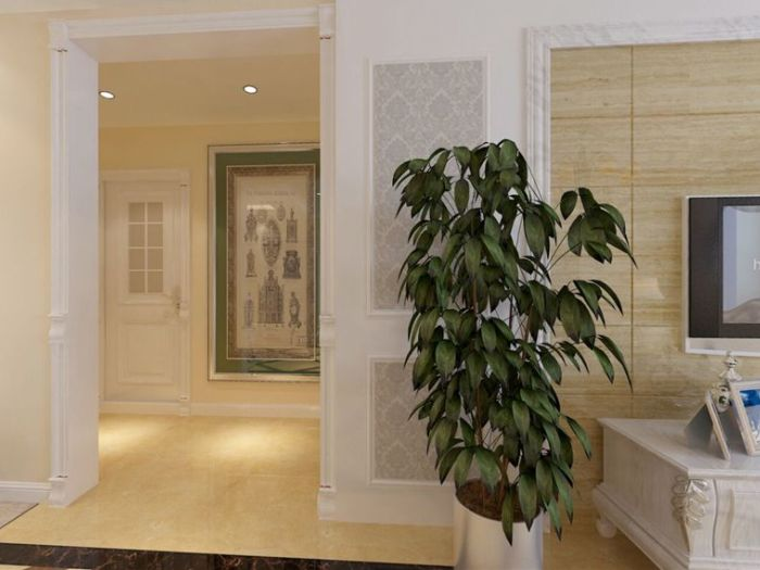 现代简约-126平米三居室-装修样板间