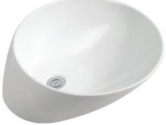 汉舍卫浴 艺术盆 精品陶瓷盆单孔艺术盆台上盆洗脸HTM420