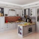好来屋整体橱柜定制佛罗伦萨欧式风格整体厨房定制图片