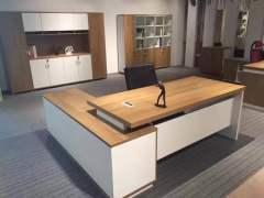 伟豪办公家具现代办板式2米老板桌办公桌大班台