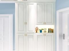 玛格定制家具 EM03欧式膜压客厅套餐定做 电视柜餐边柜玄关