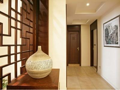 中式古典-168平米四居室装修样板间