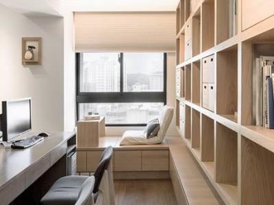 简欧风格-102平米三居室装修样板间