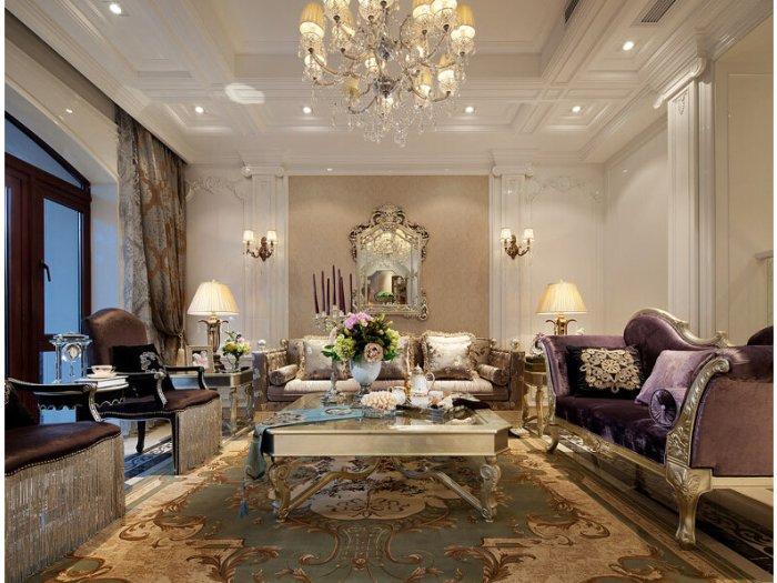 新古典风格-163.07平米四居室-装修样板间
