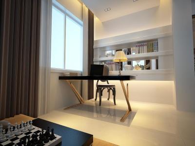 现代简约-101平米三居室装修样板间