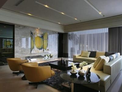 地中海风格-137平米四居室装修样板间