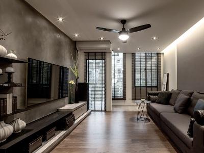 现代简约-259平米四居室装修样板间