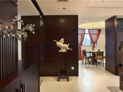 现代简约-129.45平米三居室装修样板间