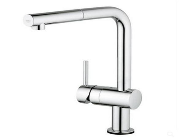 德国grohe高仪智能感应龙头洗菜盆水槽全铜无铅抽拉式厨房水