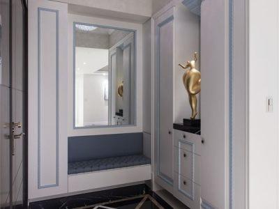 简欧风格-134.76平米三居室装修样板间