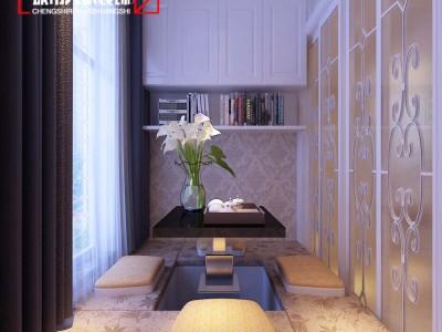 欧式风格-143平米四居室装修样板间