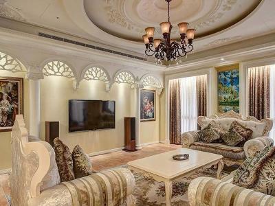 西式古典-141平米四居室装修样板间