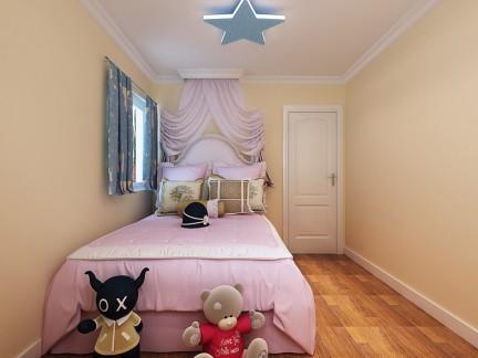 混搭风格二居室儿童房吊顶装修效果图欣赏