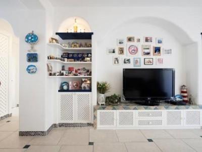地中海风格-66平米一居室装修样板间