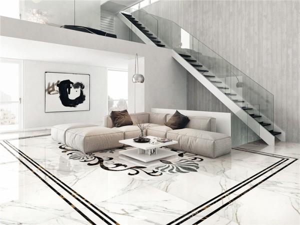 诺贝尔瓷抛砖HE90620T卡拉拉白