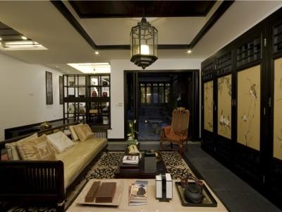 西式古典-142.01平米四居室装修样板间